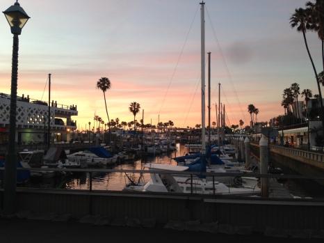 redondo beach sunset beautiful